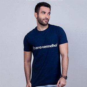 Camiseta Barro Vermelho Azul Marinho