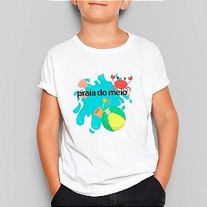 Camiseta Infantil Praia do Meio