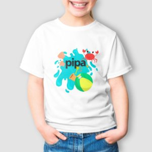 Camiseta Infantil Pipa