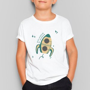 Camiseta Infantil Explorador do Universo