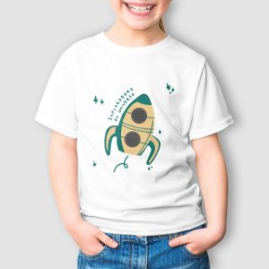 Camiseta Infantil Exploradora do Universo