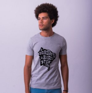 Camiseta O Nordeste é Resistência Mescla