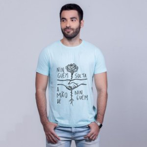 Camiseta Estonada Ninguém Solta Azul