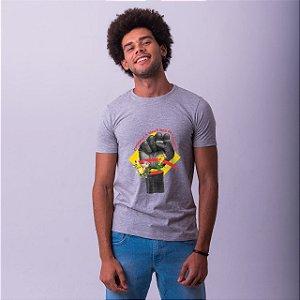 Camiseta Coragem Mescla Umazarte