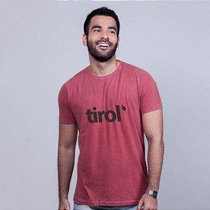 Camiseta Tirol Goiaba