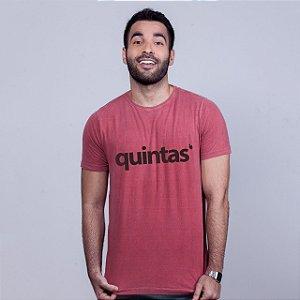 Camiseta Estonada Quintas Goiaba
