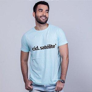 Camiseta Estonada Cidade Satélite Azul