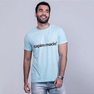 Camiseta Estonada Capim Macio Azul
