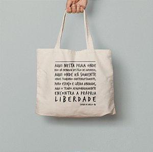 Bolsa Ecológica Poema Liberdade