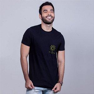 Camiseta Filtro Sol Preta