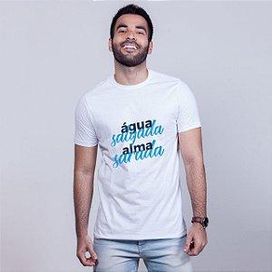 Camiseta Água Alma Branca