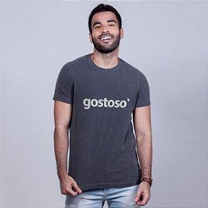 Camiseta Estonada Gostoso Chumbo