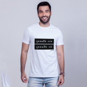 Camiseta Quente Viu, Quente Vê Branca Carito
