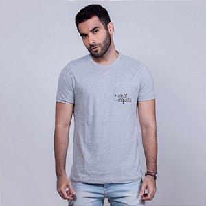 Camiseta + Amor Mescla