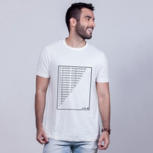 Camiseta Poema Carito Branca