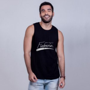 Regata Beijo Fuderoso Preta