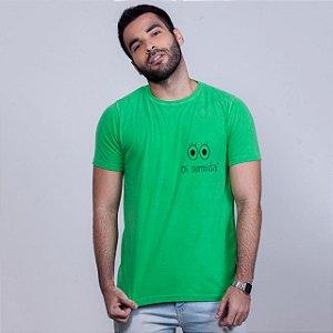 Camiseta Estonada Oi Sumida Verde