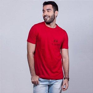 Camiseta Oi Sumido Vermelha