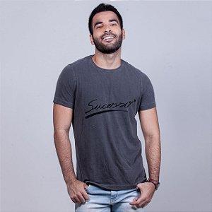 Camiseta Estonada Sucesso Chumbo