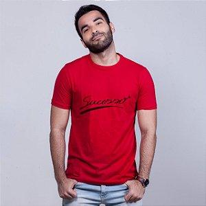 Camiseta Sucesso Vermelha