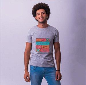 Camiseta Carne e Carnaval 2019 Mescla
