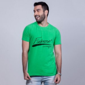 Camiseta Estonada Fuderoso é o Magão Verde