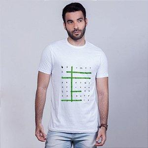 Camiseta Caça Palavras Olinda Branca