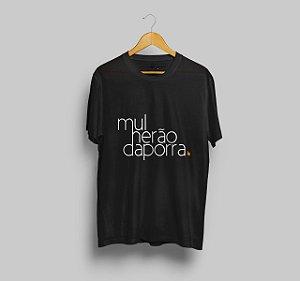 Camiseta Mulherão da Porra Preta