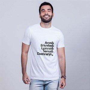 Camiseta Mulheres GOT Branca