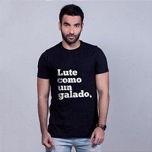 Camiseta Lute como um Galado Preta