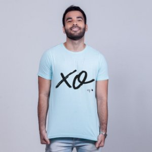 Camiseta Estonada Xo Azul