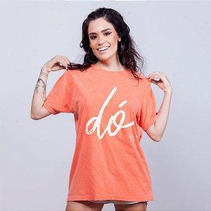 Camiseta Estonada Dó Laranja