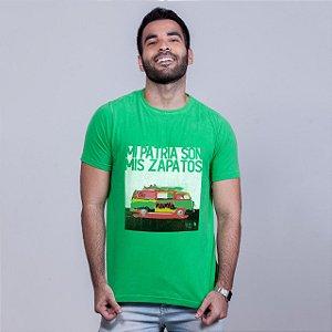 Camiseta Estonada Mi Patria Verde