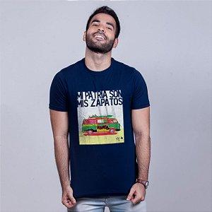 Camiseta Mi Patria Azul Marinho