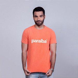 Camiseta Estonada Paraíba Laranja