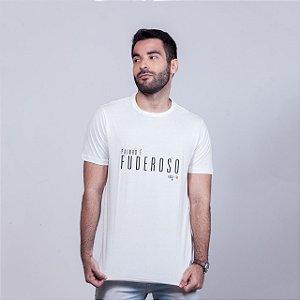 Camiseta Painho é Fuderoso STQ Branca