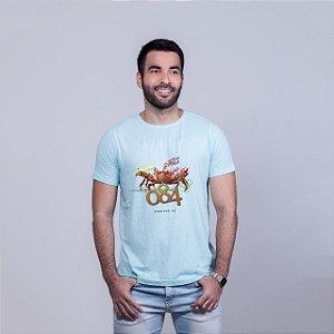Camiseta Estonada 084  Azul RAFFE