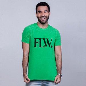 Camiseta Estonada FLW Verde