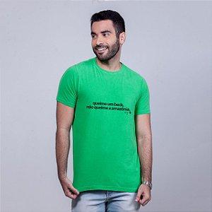 Camiseta Estonada Queime um Beck Verde