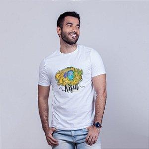 Camiseta Nisia Branca RAFFE