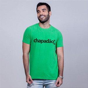 Camiseta Estonada Chapadão Verde Batendo Perna