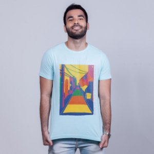 Camiseta Estonada Beco da Lama Azul