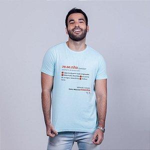 Camiseta Estonado Resenha Dicionário Azul