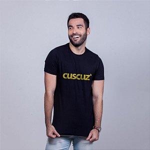 Camiseta Cuscuz Preta