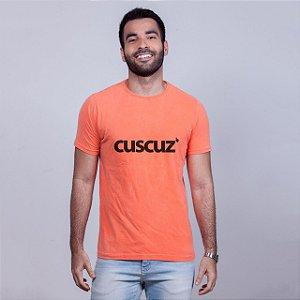 Camiseta Estonada Cuscuz Laranja
