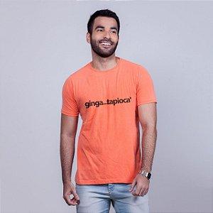 Camiseta Estonada Ginga com Tapioca Laranja