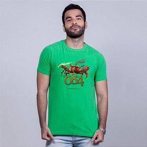 Camiseta Estonada 084 Verde RAFFE