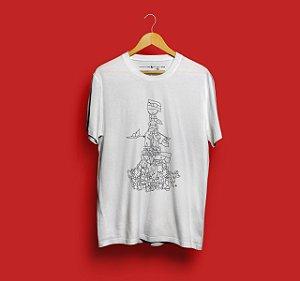 Camiseta Mapuche Branca