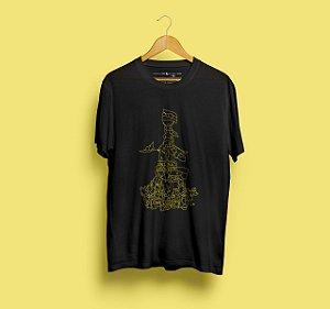 Camiseta Mapuche Preta
