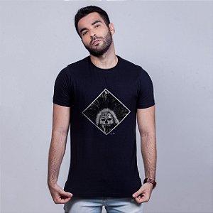 Camiseta Azteca Preta Pedro FTZA